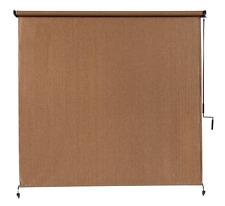 8' x 8'' Cordless Window Roller Sun Shade Exterior Outdoor Blind Heat Blocker