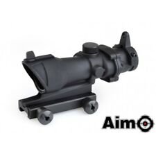 AIMO AIM 4x32 Combat Scope ACOG STYLE SCOPE OTTICA NERA BLACK SOFTAIR AIRSOFT