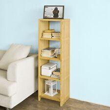 SoBuy® Bibliothèque Étagère en bambou - 5 niveaux FRG121-N FR