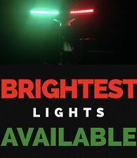 "Bow LED 12"" Submersible Red Green Navigation Light Waterproof Marine Boat 1' 12v"