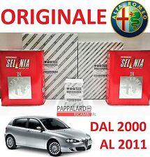 KIT TAGLIANDO FILTRI ORIGINALI +OLIO SELENIA ALFA ROMEO 147 1.6 T. SPARK 1.8