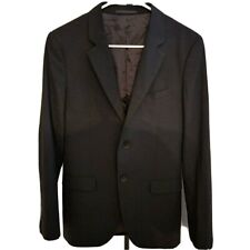 Theory Men's Black Wool Blend Suits Blazer Jacket SIze 36R Regular Fit