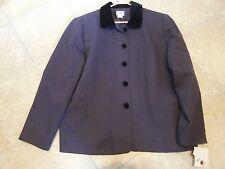 Women's Koret PURPLE & Black Jacket - Blazer Size 18 NWT