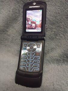 Motorola RAZR V3XX Handy Gehäuse schwarz #5 BC mobile phone case housing black