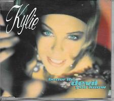 KYLIE MINOGUE - Better the devil you know CD SINGLE 3TR PWL UK release 1990