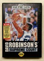 David Robinson's Supreme Court - w/Box (Sega Genesis, 1992)