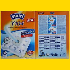 4 Beutel SWIRL Y 104 Staubsaugerbeutel Y104 - FREI HAUS per Brief Staubbeutel