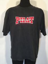 Phat Farm Classic American Flava Mens Shirt XL Short Sleeve Black Cotton  0250