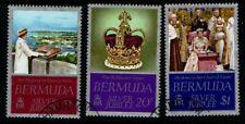 Bermuda 1977 Silver Jubilee SG371-73 Used
