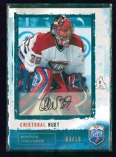 2006-07 Be A Player Autographs #112 Cristobal Huet 4/10