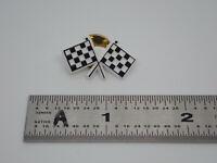 Checkered Flag Vintage Lapel Pin