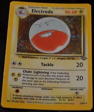 Holo Foil Electrode # 2/64 Original Jungle Set Pokemon Trading Cards Rares HP
