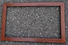 Rahmen,braun-holzfarben, 50,5x32x1,5 cm, Falzmaß 44,5x26 cm