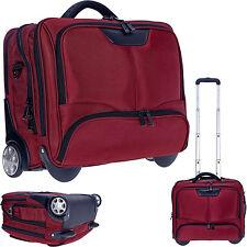 Laptoptrolley Dermata Trolley Business XL Pilotentrolley Trolly Koffer 3456 Rot