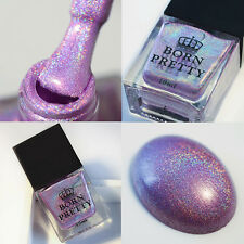 10ml BORN PRETTY Holographic Holo Glitter Super Shine Nagellack Polish H009