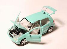 VW Polo Typ 6N 5türer 5doors in minz grün mint green, Schabak 1:43 OHNE NO box!