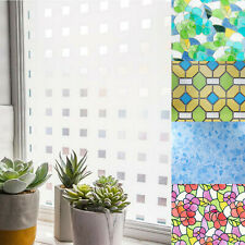 Statisch haftend Fensterfolie Sichtschutz Glasfolie 10?m² Folie Sichtschutzfolie