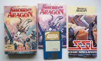 Amiga - SWORD OF ARAGON - Turn-based Fantasy Strategy Game - SSI 1990 TESTED