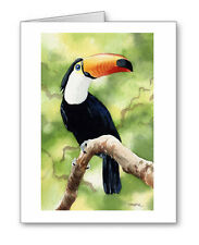 TUCAN Set of 10 Note Cards With Envelopes