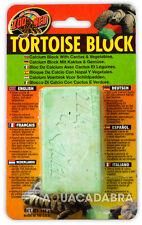 ZOO MED TORTOISE BLOCK CALCIUM CACTUS & VEGETABLES FOOD TRIMS BEAKS ZOO MED