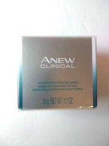 Avon Anew Clinical Overnight Hydration Mask 1.7 fl. oz. - New Sealed