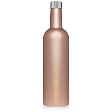 NEW BRUMATE WINESULATOR™ 25 OZ WINE CANTEEN | GLITTER ROSE GOLD