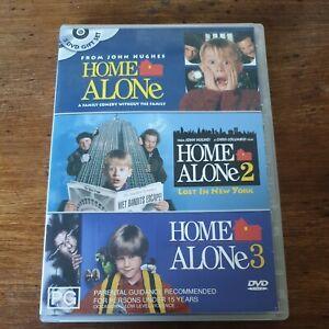 Home Alone 1 2 3 Triple Set R4 Like New! FREE POST