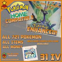 Unlocked Pokemon X All 721 Shiny & items | All 721 Shiny Pokemon | Pokemon Home