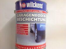 2,5 Ltr. Wilckens Garagenboden Beschichtung Beton Zementfarbe  7001 silbergrau