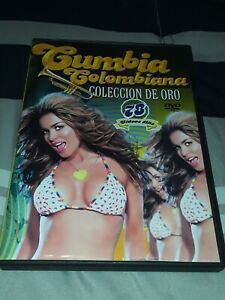 Dvd Colombia Cumbia Colombiana 78 video hits