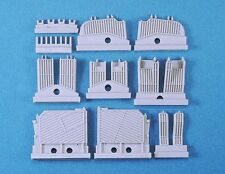 LEGEND 1/35 LF1345 M48/60 Engine Deck Louvers set tamiya dragon afvclub trumpter