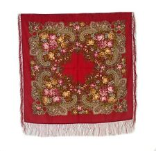 mediuim russo in lana Sciarpa #77905 ( SETA frangia)