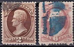 United States 1873 Scott 157, 159 used