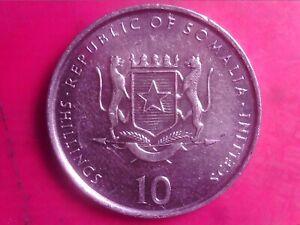 SOMALIA 10 SHILLINGS 2000 MAY10