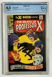X-MEN #42, Marvel Comics, CBCS 6.5 not CGC