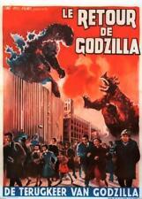 Affiche -  KING KONG CONTRE GODZILLA - 36x56cm