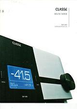 CLASSE  Delta-Serie SSP-800 Surround-Prozessor Katalog Heft  B1232