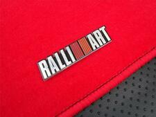 RED 00-14 MITSUBISHI LANCER 5PC SEMI CUSTOM FITMENT FLOOR MAT CARPET JDM SET