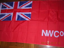 NEW British Empire Flag The North West Company NWCo Canada Red Ensign 3X5ft