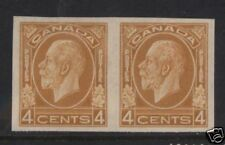 Canada #198a XF/NH Imperforate Pair