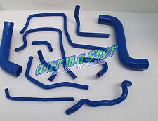subaru WRX STI GDA GDB EJ20 heater hose kit 00-07 Blue