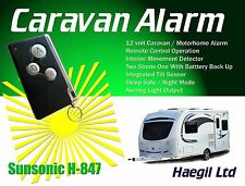 Caravan Alarm 12Volt, Modular, Remote Controlled, Complete Alarm Security System
