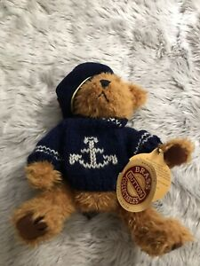 Pickford Bears Brass Button Collectibles Tango Bear of Health Fully Jointed Bear