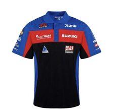 BuildBase Suzuki team official polo shirt superbike racing shirt