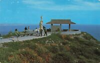 Postcard Cabrillo National Monument San Diego California