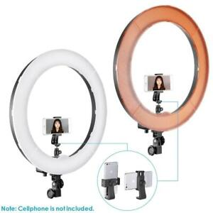 Neewer 18-inch Outer Dimmable SMD LED Ring Light Lighting Kit with Light Stand