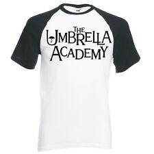 """THE UMBRELLA ACADEMY"" RAGLAN BASEBALL T-SHIRT"