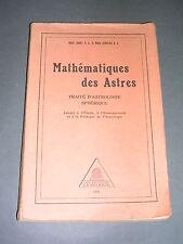 Esotérisme Astrologie Magi Zariel Magi Aurelius mathématiques des astres 1929