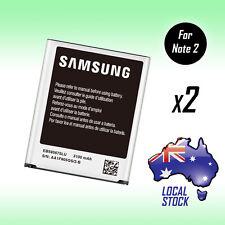 2X ORIGINAL GENUINE OEM 3100mAh Battery For Samsung Galaxy Note 2 II N7100 N7105