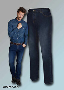 Kariban Denim-Herren Jeanshose Denim Herren Jeans Farben blau Größe DE 58 bis 62